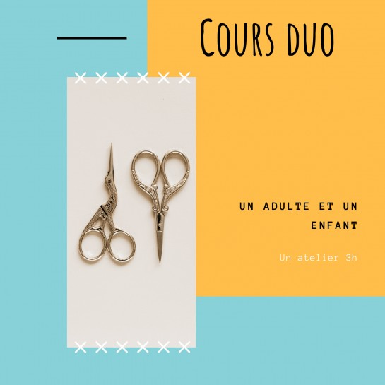 cours de couture   Duo