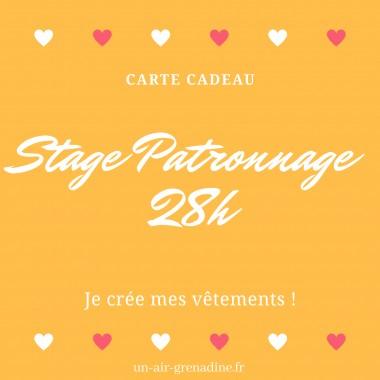 BON CADEAU Stage Moulage patronnage